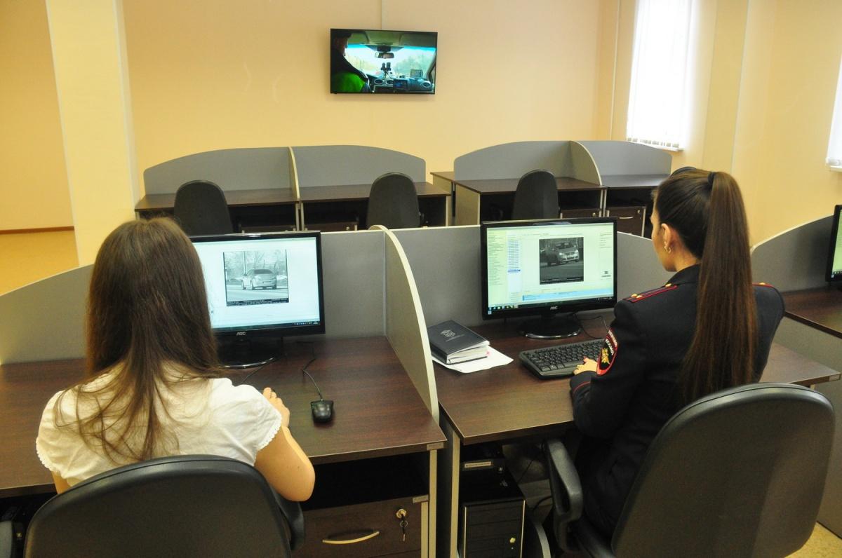 В центре обработки данных с камер фотофиксации нарушений