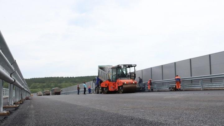 Движение по Тимашевской развязке в Уфе запустят до конца июля
