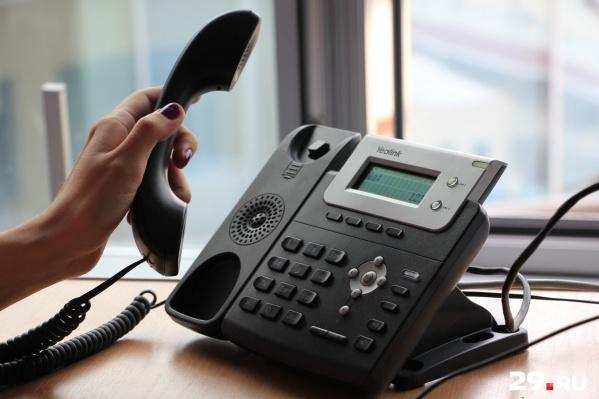 Консультации по телефону пройдут уже 5 сентября