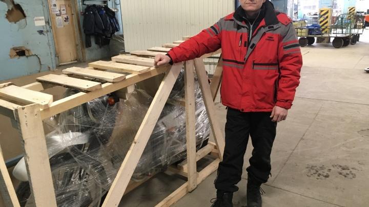 Ярославцу из Владивостока «Почтой России» отправили мотоцикл: угадайте, как быстро он его получил