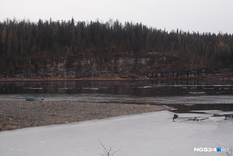 Та самая речка, Бахта, по которой в лодке везли раненую Тамару