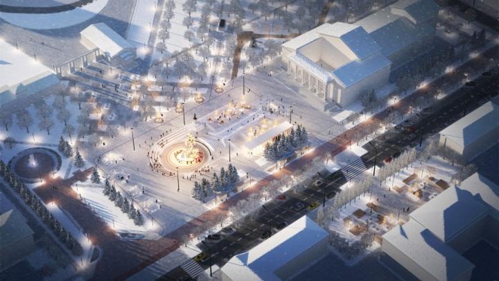 Стало известно, как будет выглядеть главная площадь «второго Баку» в Башкирии