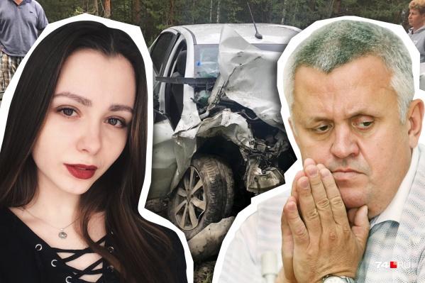 Авария, в которой тяжело пострадала Настя после столкновения с Lexus Андрея Косилова, произошла 28 июля прошлого года