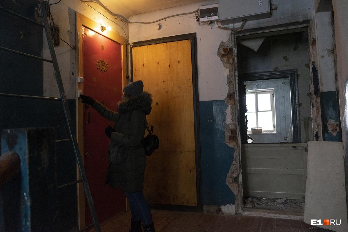 Все квартиры в доме разрушены
