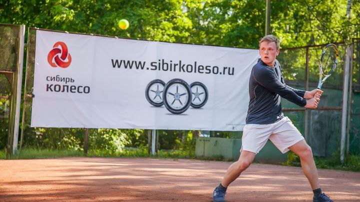 Спортсмен прилетел из США и выиграл теннисный турнир в Академгородке