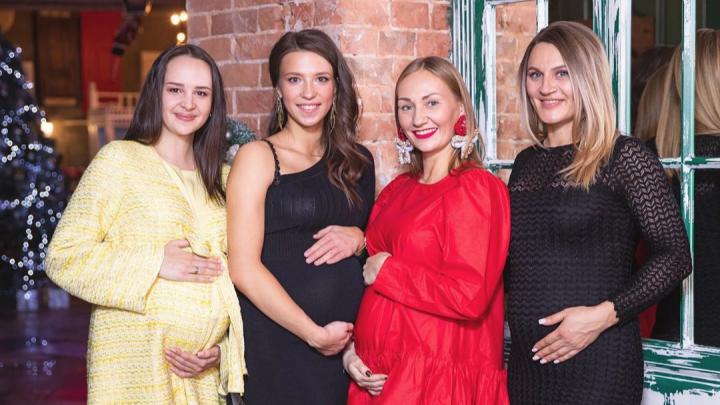 «Мы не договаривались!»: жёны трех спортсменов и директора школы Шлеменко забеременели в одно время