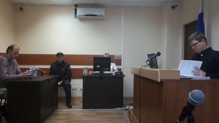 Пермский активист Сергей Ухов не смог обжаловать свой арест за неповиновение полиции