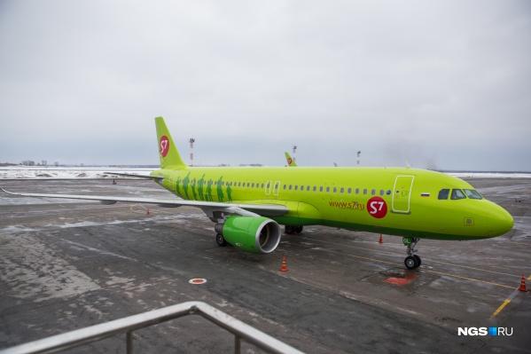 Авиарейсов из Новосибирска в Кемерово и Барнаул не было больше 20 лет