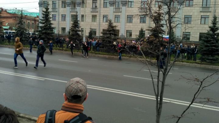 Задержания после митинга