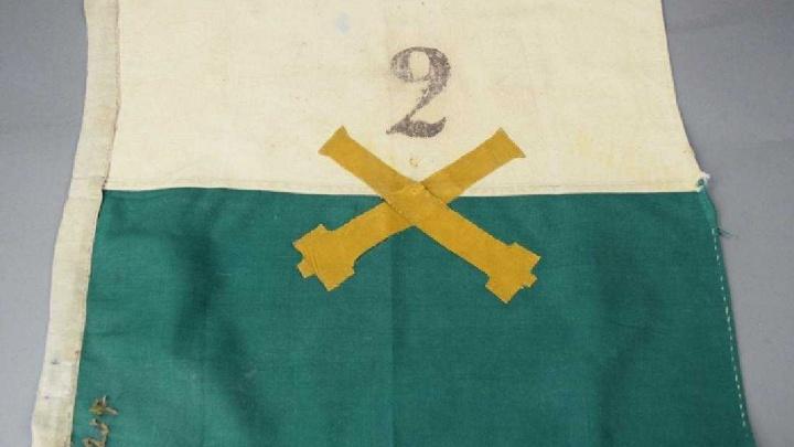 В Техасе нашлось знамя Сибирской армии из Ново-Николаевска