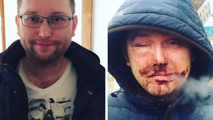 В Кольцово таксист напал на пассажира, который не смог заплатить наличными