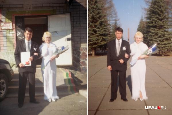Счастливая пара, ничто не предвещало беды