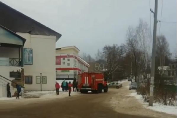 Скрин с видео происшествия, сделанного очевидцем