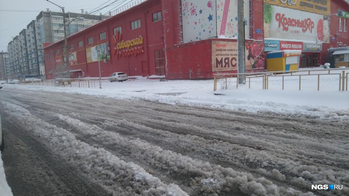 Майский снегопад: улицы Красноярска утонули всугробах