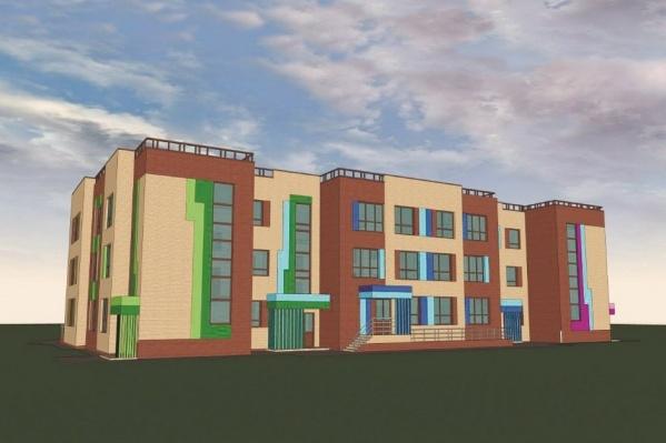 В новом детском саду на улице Мясниковой будет 160 мест на 10–12 групп малышей