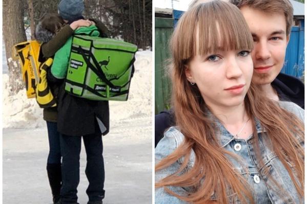 Дима и Юля случайно познакомились на работе и не ожидали, что станут знаменитыми на весь город