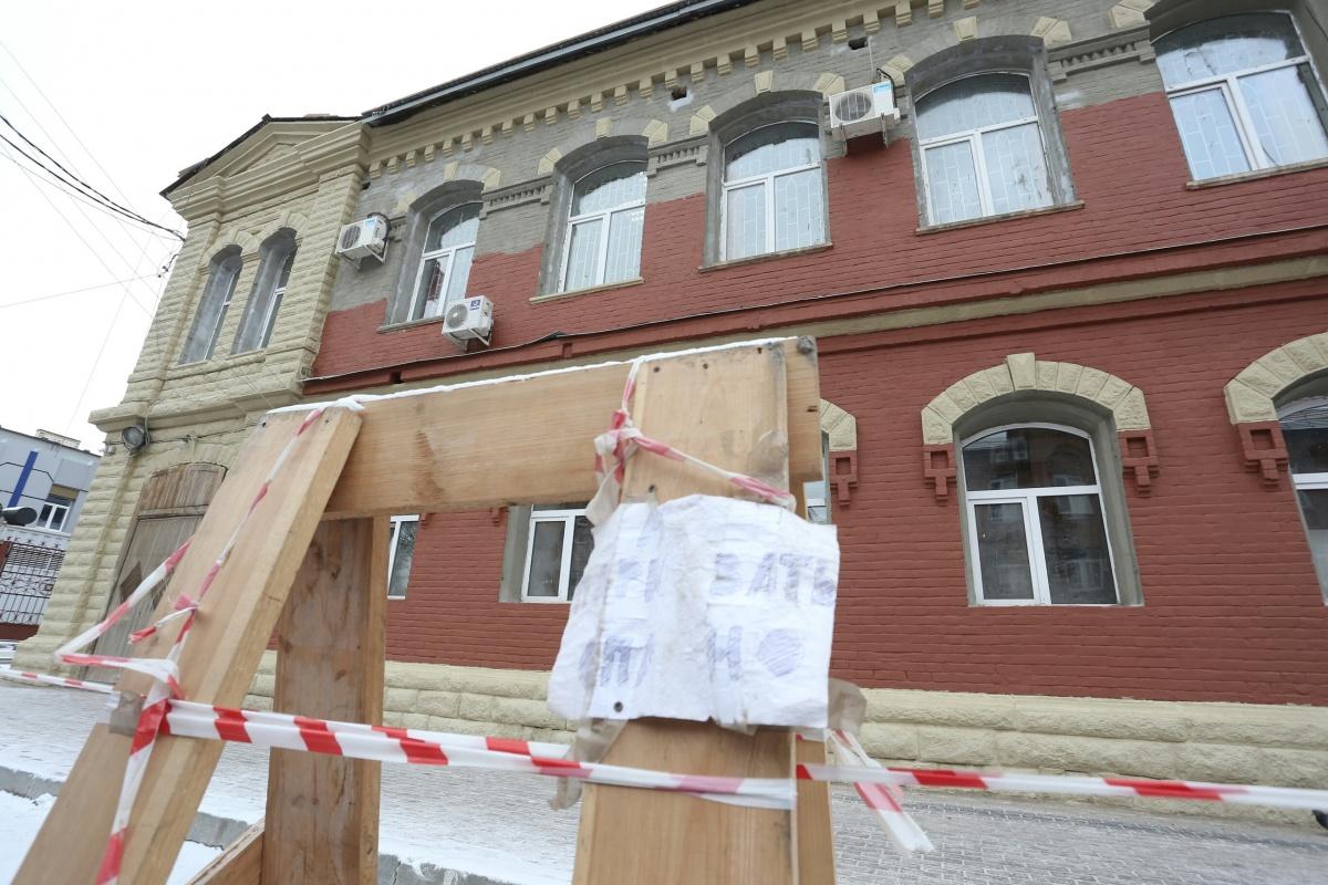 Военные украсили свое здание