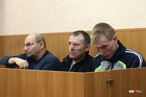 На скамье подсудимых