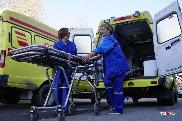 Благодаря быстрой реакции родственников и врачам, тюменец получил необходимую помощь