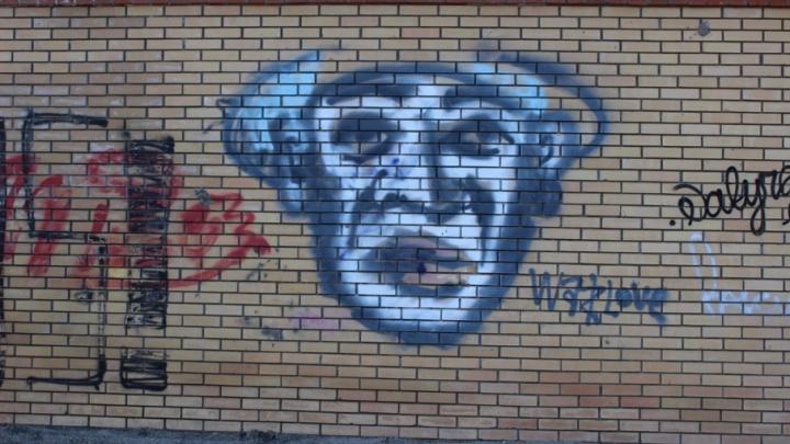 В Уфе вандалы разрисовали стены подстанции в центре города