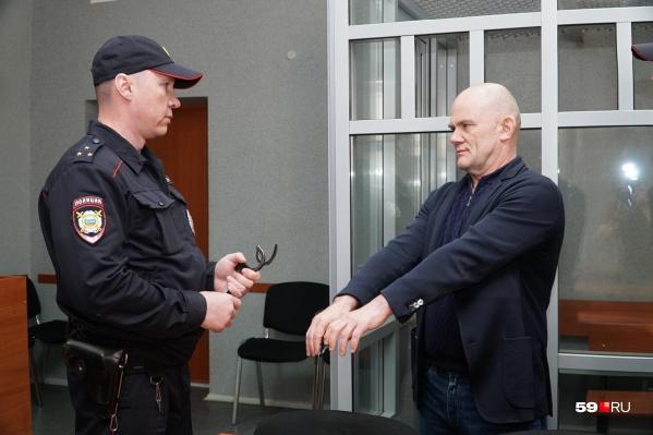 Владимира Нелюбина взяли под стражу в зале суда