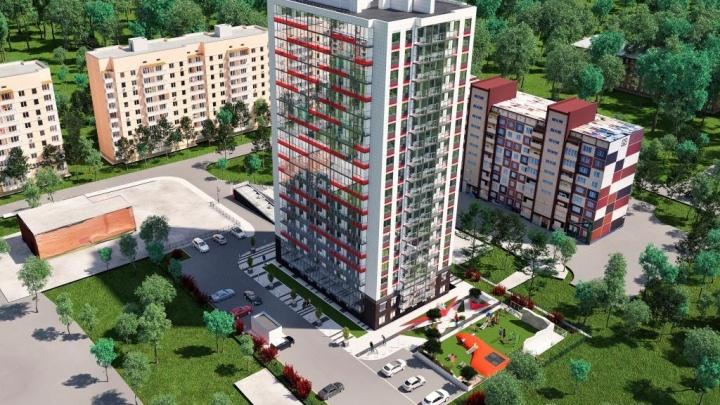 В центре Родников строят жилой комплекс, названный в честь богини победы
