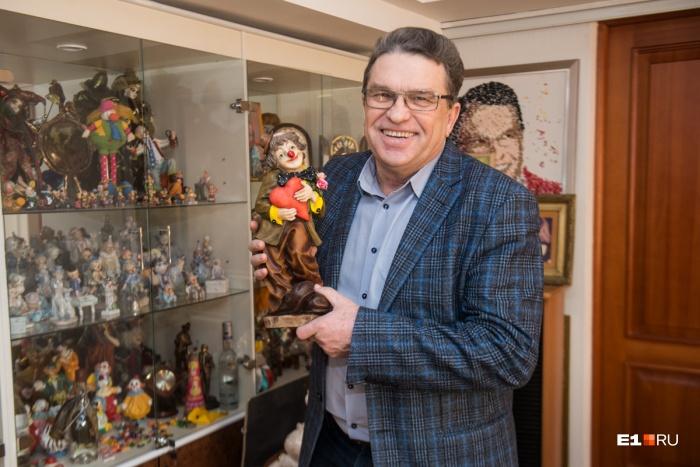 Анатолий Марчевский вернулся на работу в цирк