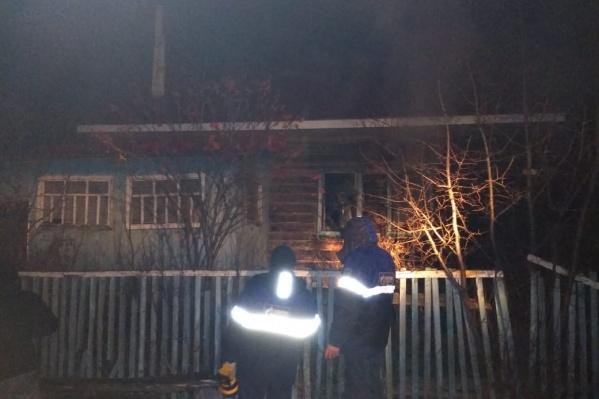Мужчину нашли после того, как пожар потушили