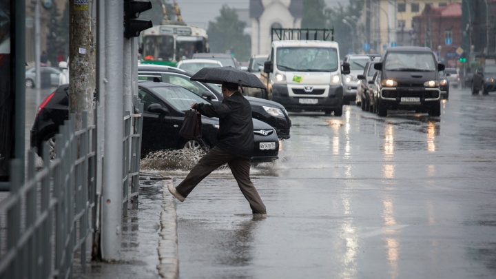 Холодно и сыро: к Новосибирску приближается серия циклонов
