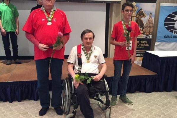 Дмитрий Щербин —международный мастер по шахматам