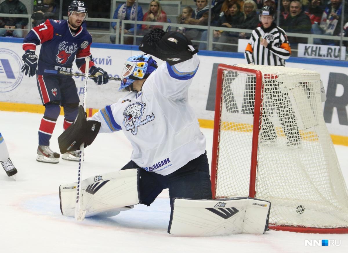 «Барыс» три раза отыгрался ипобедил «Торпедо» вгостевом матче КХЛ