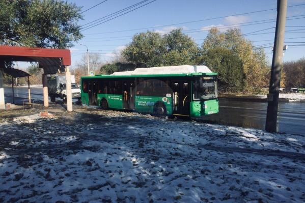 Автобусы на выходные вывели на маршрут Мамина — ЮУрГУ. До конца месяца там должен появиться свой новый подвижной состав