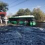 На маршрут, соединяющий ЧТЗ и центр Челябинска, вывели экологичные автобусы