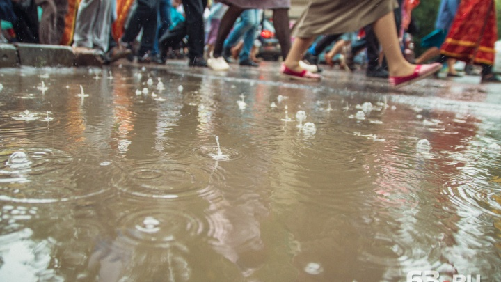 Жара и гроза: в Самаре прогнозируют дождливую погоду на начало недели
