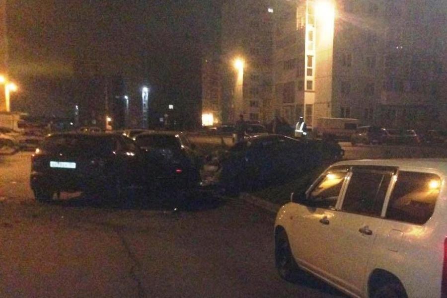 ВНовосибирске виновник массового ДТП убежал, бросив пострадавшего пассажира