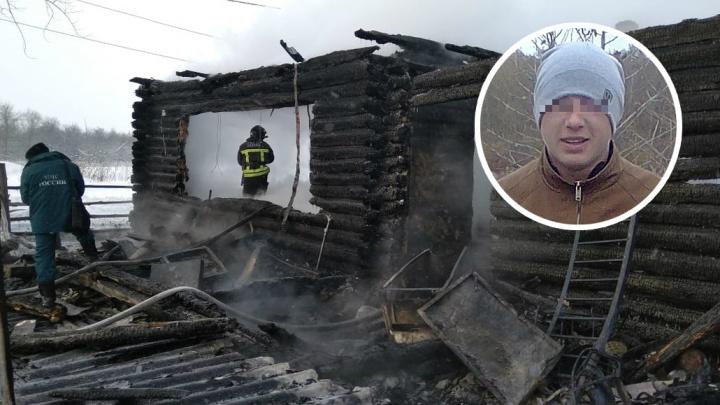 В Башкирии после пожара семье с новорожденным ребенком негде жить