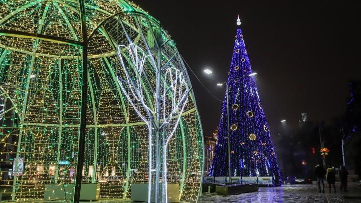 Новый год наступает: показываем, как украсили Ростов к празднику