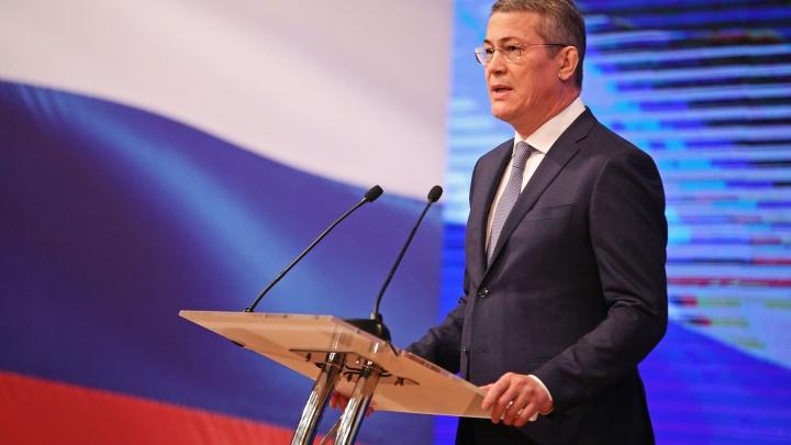 В ЦИК поступили документы кандидата на должность главы Башкирии Радия Хабирова