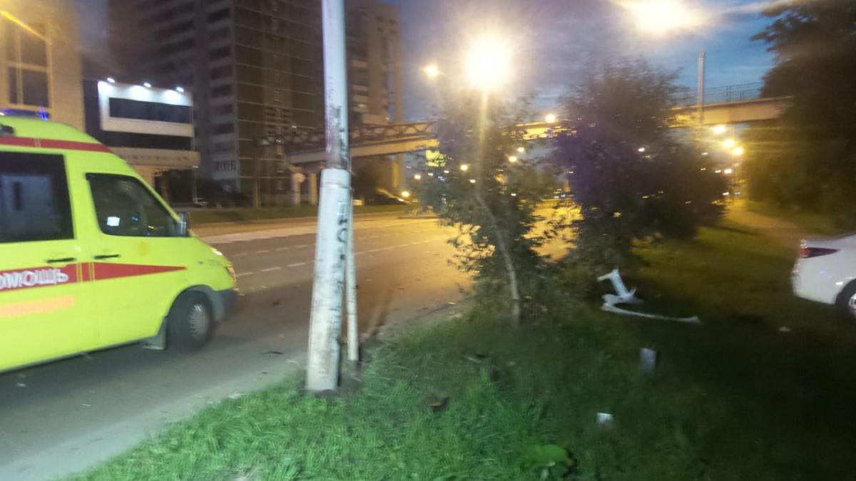 В ДТП пострадал ребенок водителя
