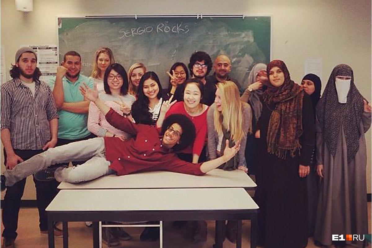 Софья училась в одном из престижных университетов Монреаля