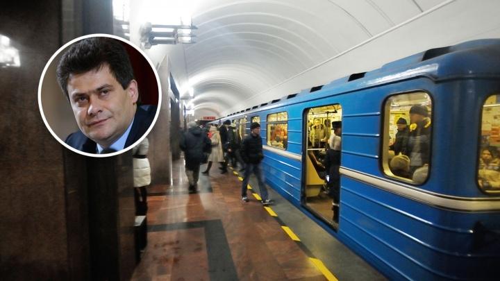 Александр Высокинский на брифинге о сквере: «Мы приложим все усилия, чтобы вторая ветка метро была»