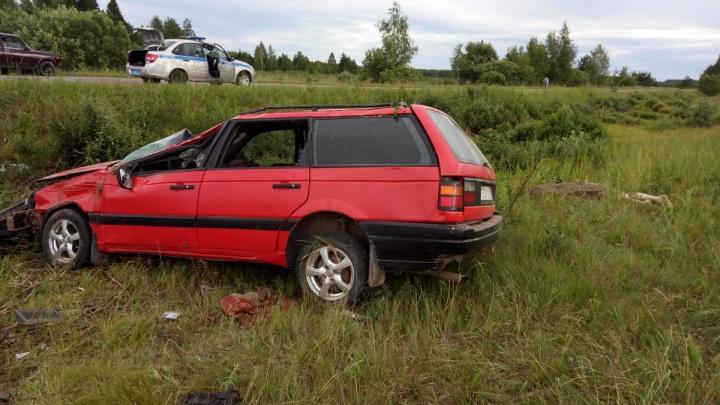 Под Гаврилов-Ямом иномарка вылетела в кювет: погиб водитель
