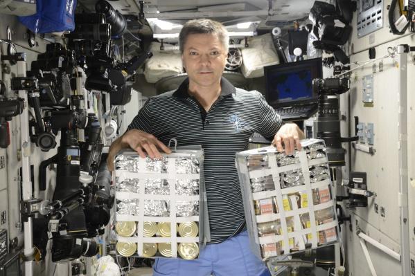 Космическая еда:3000 ккал на каждый день