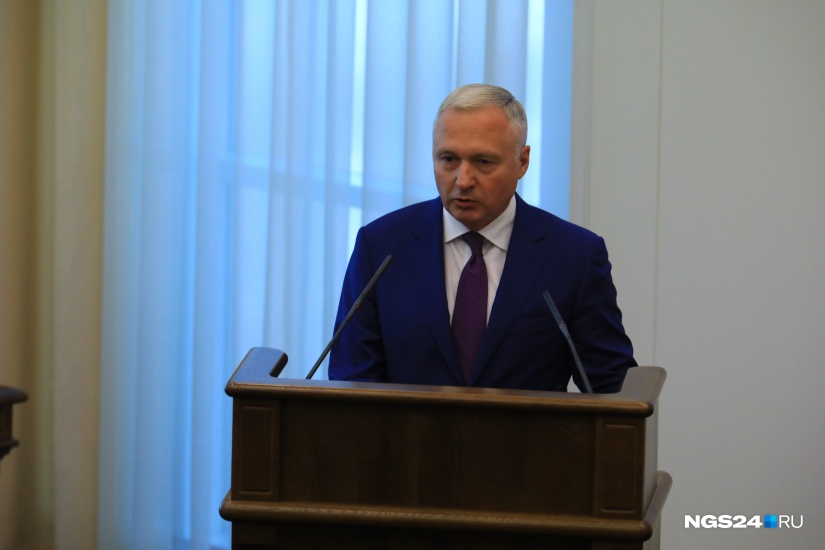 Глава правительства Юрий Лапшин Фото: Артем Ленц
