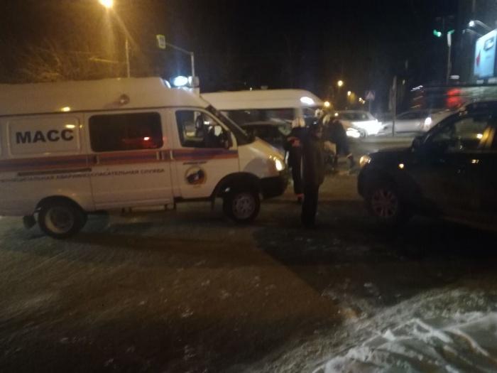 В аварии на «Телецентре» пострадали двое человек