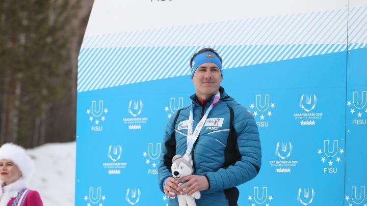 Уступил лишь 5,5 секунды: биатлонист Эдуард Латыпов принес Башкирии еще одну медаль на Универсиаде