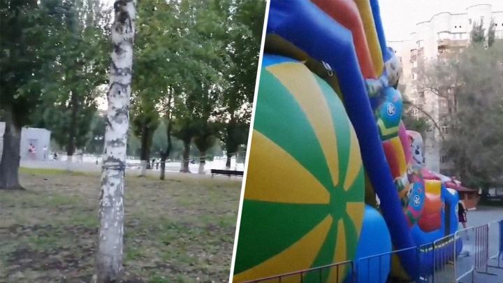 «Веревочкой привязали к березе»: в Самаре проверяют детские аттракционы из-за двух ЧП
