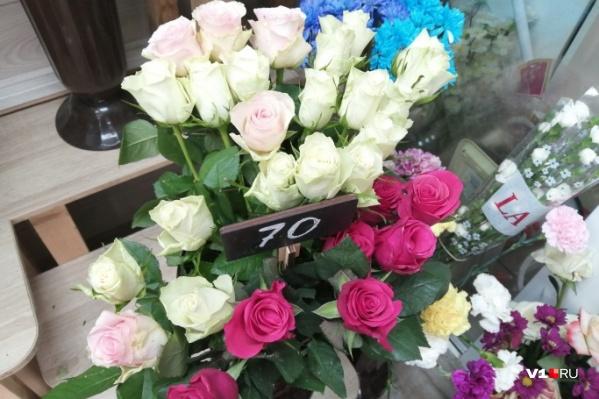 Один цветок обойдется администрации в 106,6 рубля