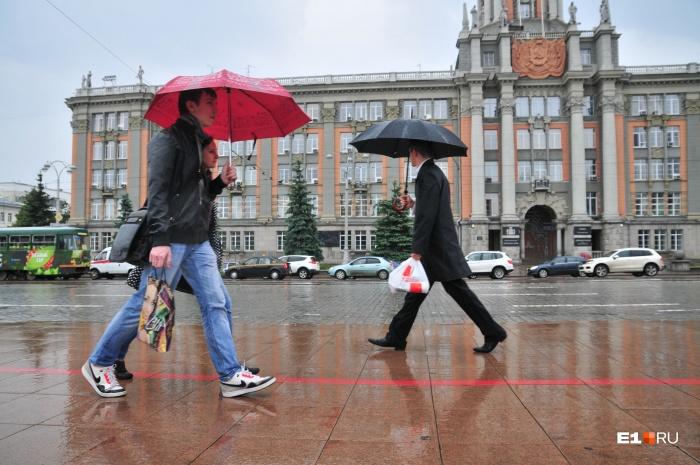 Небольшие дожди будут идти все ближайшие дни