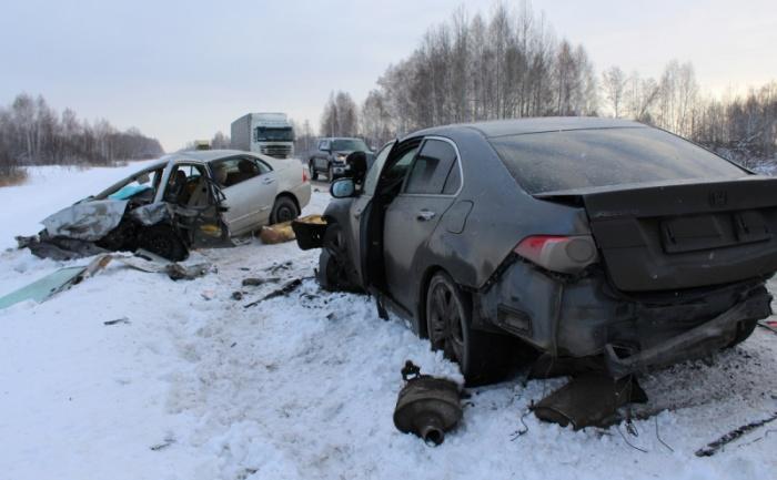 Авария в Коченёвском районе, во время которой погибли два ребёнка